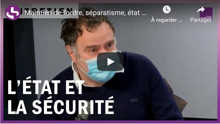 Bernard Rougier invité des matins de France Culture - 26/01/21