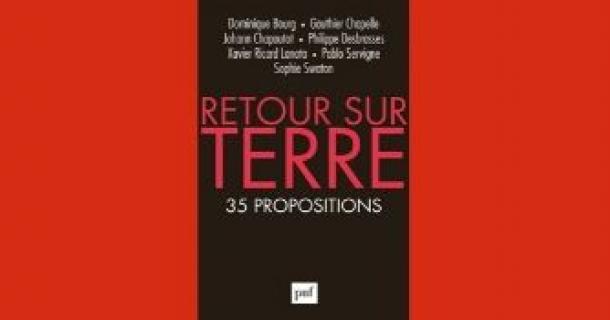 """Revue de presse -"""" Retour sur Terre. 35 propositions"""""""