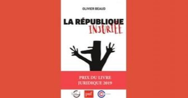 Prix du livre juridique 2019 - Olivier Beaud