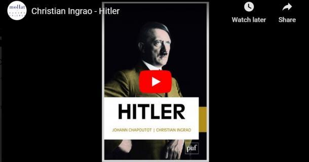 """Christian Ingrao présente """"Hitler"""" - Librairie Mollat"""