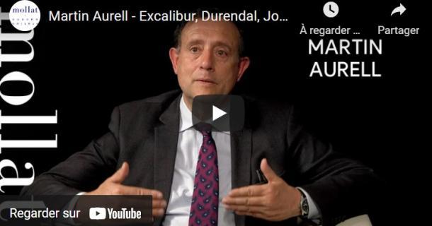 Martin Aurell présente Excalibur, Durendal, Joyeuse : la force de l'épée