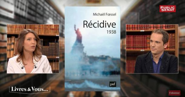 Michaël Fœssel invité de Livres & vous
