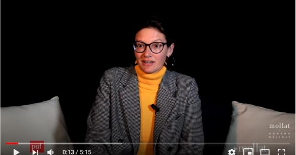 """Fanny Lederlin présente """"Les dépossédés de l'open space"""""""