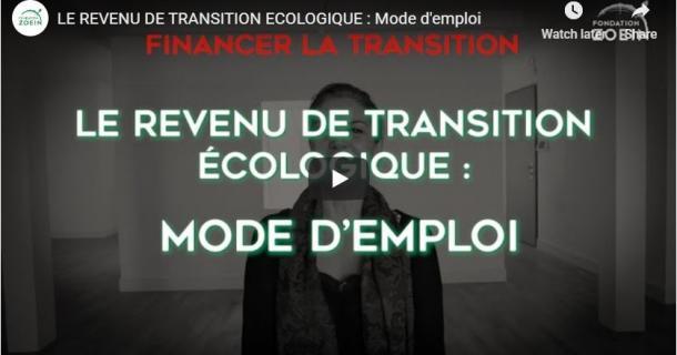 Sophie Swaton - Le revenu de transition écologique : mode d'emploi
