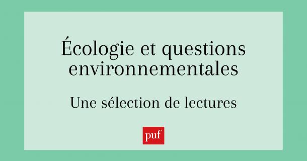 L'écologie - Sélection de lectures