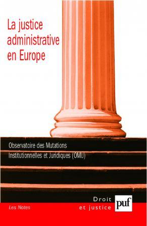 La justice administrative en Europe