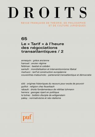Droits 2017, n° 65