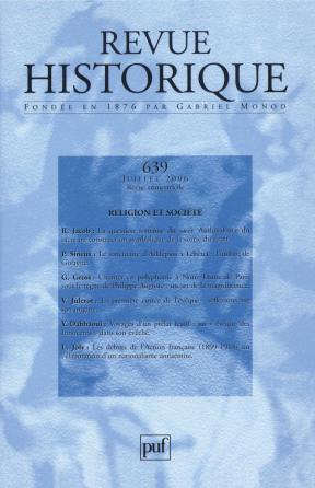 Revue historique 2006, n° 639