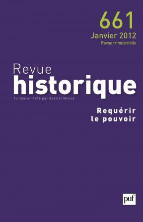 Revue historique 2012, n° 661