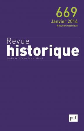 Revue historique 2014, n° 669