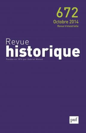 Revue historique 2014, n° 672