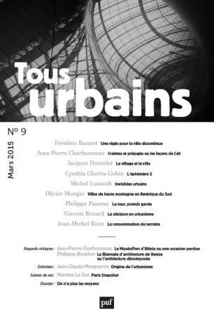 Tous urbains n° 9 (2015)