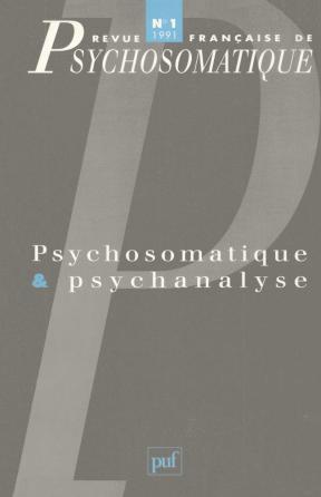 Rev. fr. de psychosomatique 1992, n° 1