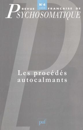 Rev. fr. de psychosomatique 1993, n° 4