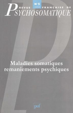 Rev. fr. de psychosomatique 1994, n° 5