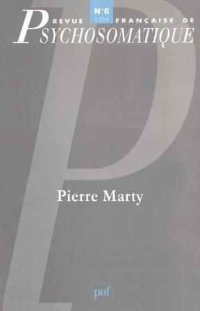 Rev. fr. de psychosomatique 1994, n° 6