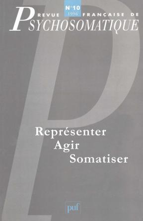 Rev. fr. de psychosomatique 1996, n° 10