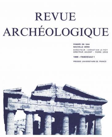Revue archéologique 1999, n° 1