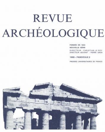 Revue archéologique 1999, n° 2