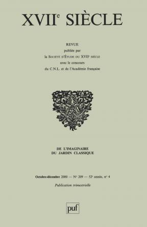 XVIIe siècle 2000, n° 209
