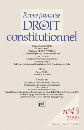 RFDC 2000, n° 43