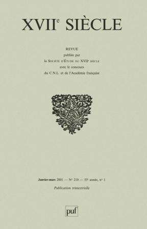 XVIIe siècle 2001, n° 210