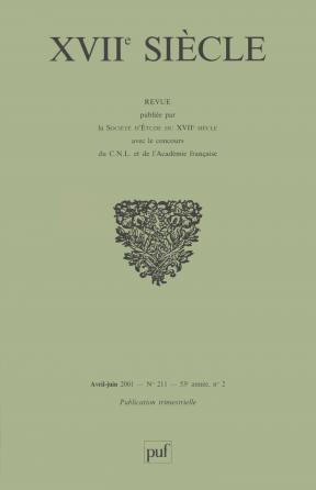 XVIIe siècle 2001, n° 211