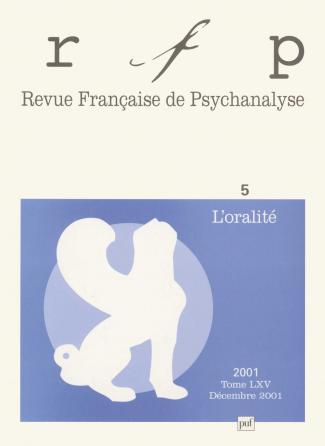 RFP 2001, t. 65, n° 5