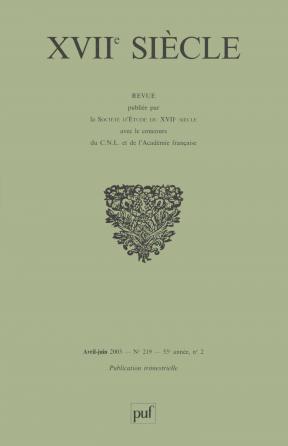 XVIIe siècle 2003, n° 219