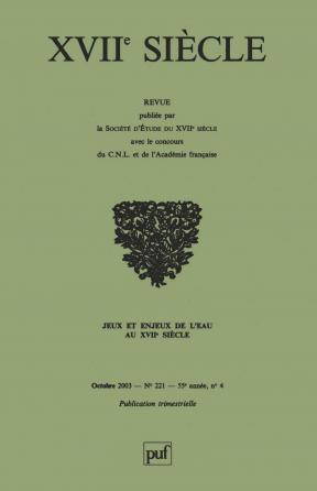 XVIIe siècle 2003, n° 221