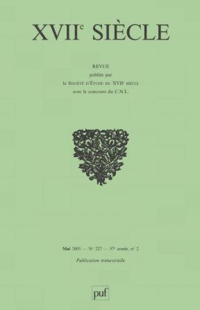 XVIIe siècle 2005, n° 227