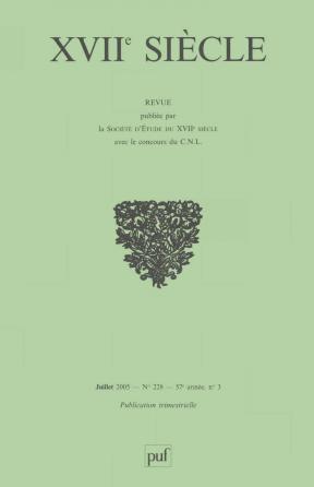 XVIIe siècle 2005, n° 228