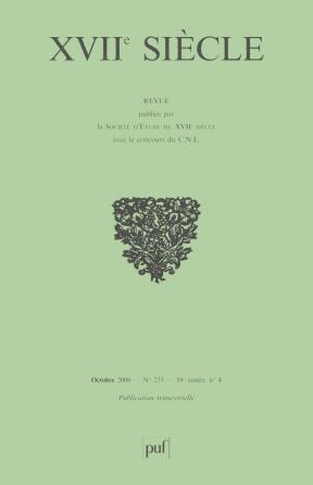 XVIIe siècle 2006, n° 233
