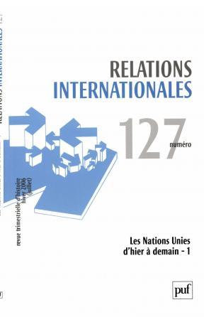Relations internationales 2006, n° 127