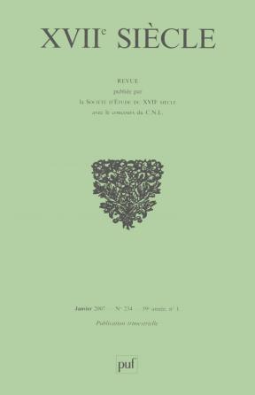 XVIIe siècle 2007, n° 234