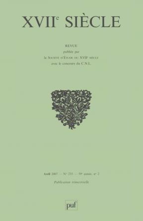 XVIIe siècle 2007, n° 235