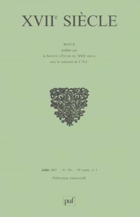 XVIIe siècle 2007, n° 236