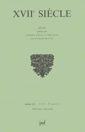 XVIIe siècle 2007, n° 237