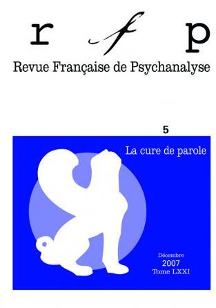 RFP 2007, t. 71,, n° 5 (Congrès)
