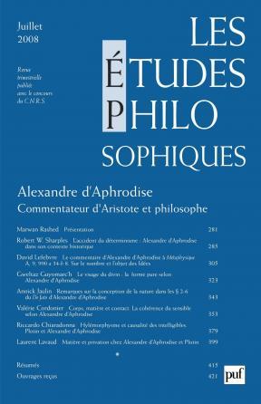 études philosophiques 2008, n° 3