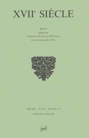 XVIIe siècle 2008, n° 239
