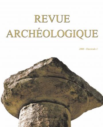 Revue archéologique 2008, n° 1