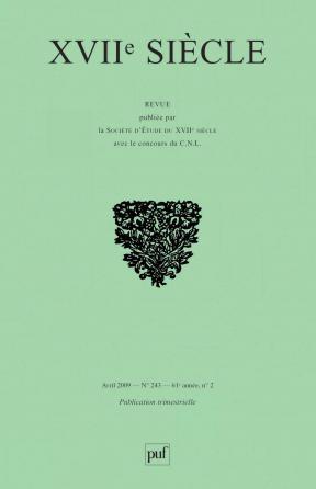 XVIIe siècle 2009, n° 243
