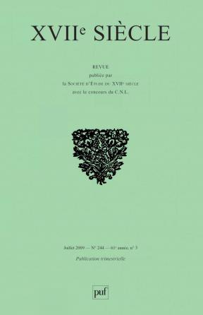 XVIIe siècle 2009, n° 244