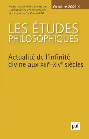 études philosophiques 2009, n° 4