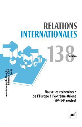 Relations internationales 2009, n° 138