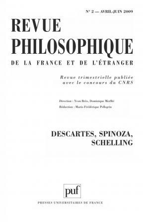 Revue philosophique 2009, t. 134 (2)