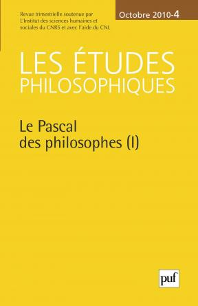 études philosophiques 2010, n° 4