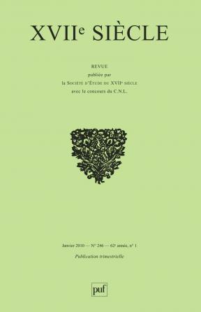 XVIIe siècle 2010, n° 246