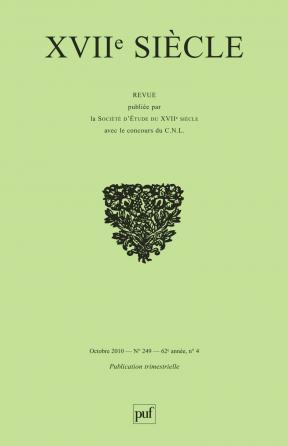 XVIIe siècle 2010, n° 249